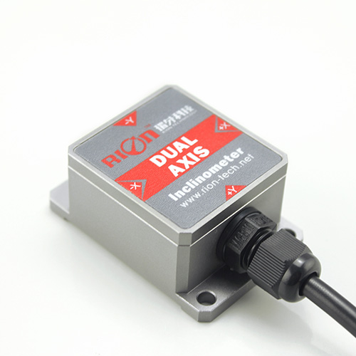 Dual-axis with voltage output  inclinometer