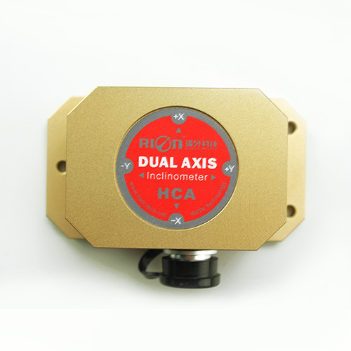 Dual-axis current output inclinometer